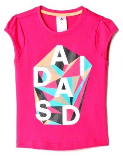 adidas performance Girls Rock IT T SHIRT Tee BNWT Free RM24 delivery AK1959